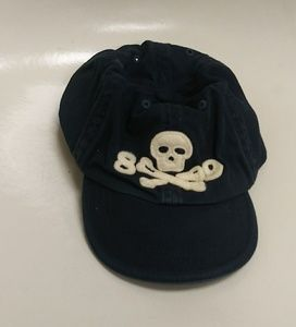 "Baby Gap skull and crossbones sM/L ""89"" ball cap"